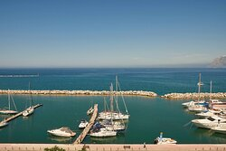 Moxy Queen Sea View, Guest room, 1 Queen, Sea view, Balcony