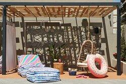 Poolside Cabana