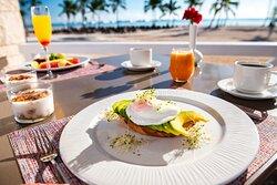Hyatt Zilara Cap Cana Shutters Beachside Food Shot