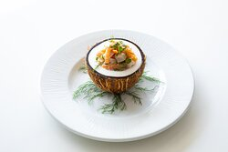 Hyatt Zilara Cap Cana Brandos Food Shot Ceviche