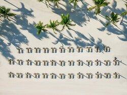 Hyatt Zilara Cap Cana Aerial Beach