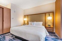 King Executive Suite - Sleeping Area