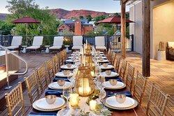 Rooftop Terrace - Outdoor Meeting Space