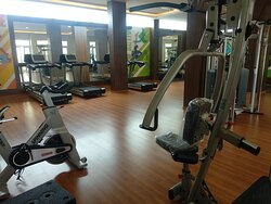 Gym amazing facilities to delight our guests