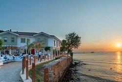 Restaurant in Side Antalya Turkey