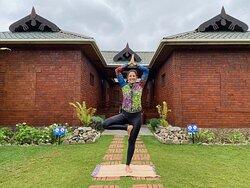 Yoga at Fun Retreat Resort