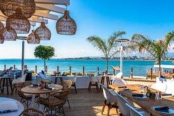 Restauran and Hotel in Side Antalya Tuırkey