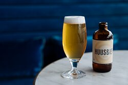 Huusbier at Bar Iris - exclusively brewed for Hyatt Hotels at the Circle