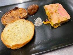 foie gras du chef façon nougat
