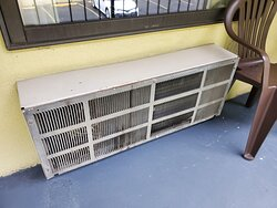 old, loud air conditioner
