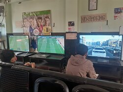 Mirage gaming house playstation xbox game zone video kathmandu nepal #kathmandu #nepal #playstation #ps4 #game #xbox #games #play #fifa #gaming #videogames #gamer #football #soccer  Don't call. Message only, just send message directly in viber, WhatsApp or message us in our facebook page.  For price details message us at: https://www.facebook.com/TheMirageGamingHouse/ Viber/ whatsapp: 9807662587