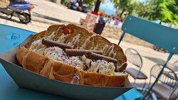 Ice cream Croissant