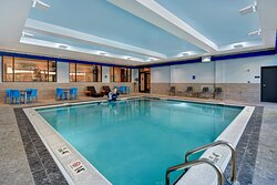 Indoor Heated Pool - Connects to Outdoor Courtyard with Fire Pit