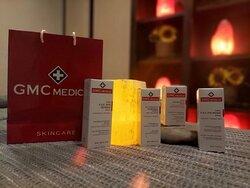GM Collins Medical Line for facials