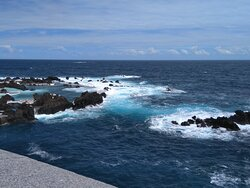 Porto Moniz - natural lava stone swimming pools  A nice and unique place where you can take sun baths, swimming in the natural pools and having a great lunch at the local restaurant !
