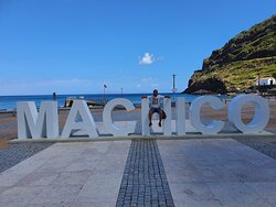 With Anselmo in Machico - the original capital of Madeira