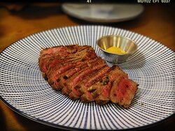 """Told to be """"Beef Tenderloin ($208)"""" when asked"""