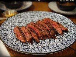 "Told to be ""Hanger Steak/Alloyau Flank Steak/Flanchet Flank Steak ($178"" when asked"