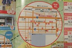 玉子焼店舗を紹介した 明石焼物語の明石駅付近の玉子焼店舗
