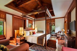 Royal villa bedroom