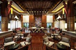 Lobby bar seating