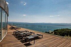 Penthouse terrace view