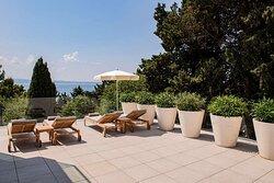 Spalato Spa terrace