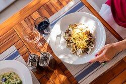 Mistral Bar & Restaurant food