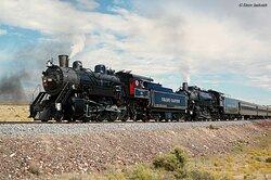 Grand Canyon Railway out of Williams, AZ