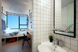 Master Bedroom of All Together 6-Bedroom Duplex