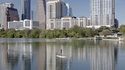 City Skyline with Paddleboarder.tif