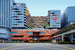 Facade of lyf Funan Singapore