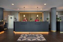 Reception_the niu Ridge Hotel Halle (Saale)