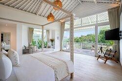 Studio Bedroom Garden View Villa