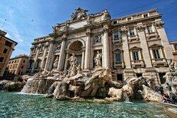 Trevi Fountain Recreation