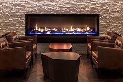 Kahill's Chophouse Fireplace