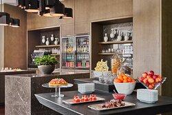 Rosewood Guangzhou Manor Club Food Setup