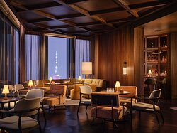 Rosewood Guangzhou Too High Interior With Canton Tower View