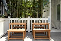 Outdoor Seating and Bamboo