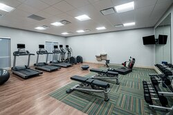 Fitness Center at the Holiday Inn Express St. Peters MO