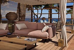 Amaro Lobby Bar and Lounge Terrace Gazebo