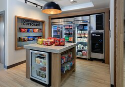 Enjoy the convenience of our Cupboard for a snack, drink or meal.