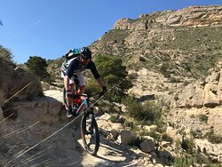 Trail-Camp nähe Alicante