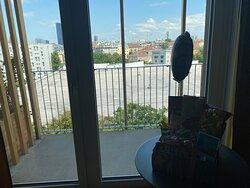 Die Aussicht aus dem Zimmer/ Balkon