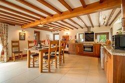 Haybarn kitchen.
