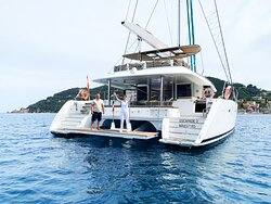 Catamaran avec skipper