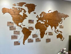 Our chocolate map lists the origin, distinctive feature and recommended pairings for each chocolate
