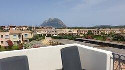 Obere Terrasse mit Blick auf Tavola