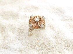 Anelli oro, www.massaiorafi.com, anello, traforato a mano con l'arte del traforo fiorentino, in oro