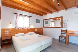 Deluxe Double or Twin Room with Panoramic Sea View Third Floor